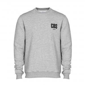Sweat - CBS Embroidery - Grey_Front
